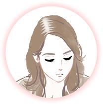 脱毛に悩んでいる女性のイメージ