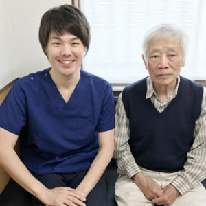 豊明市 右肩、右足の麻痺 80代男性 T.Kさん